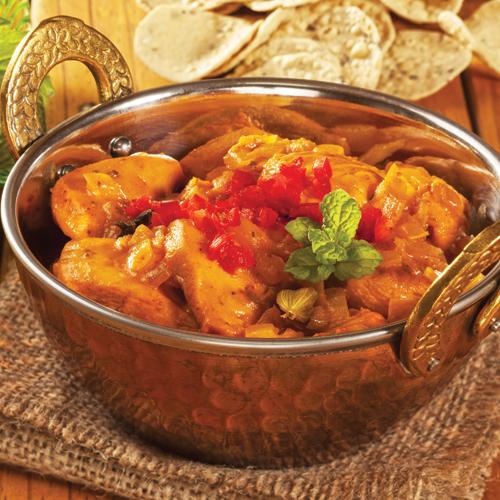 Pui cu curry în stil indian