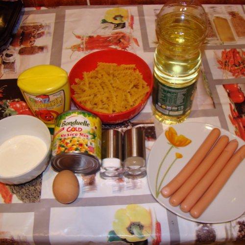 Salată cu Bonduelle Mexico Mix