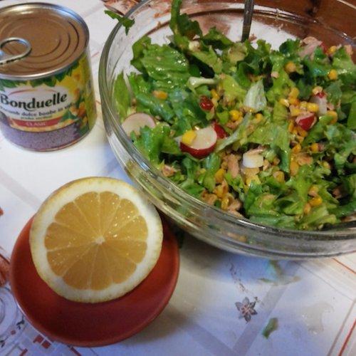 Special delicious Tuna Salad a la Răzvan!