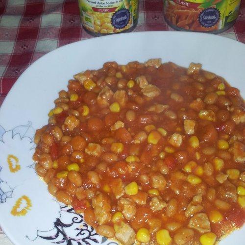 Tocană de legume - carne