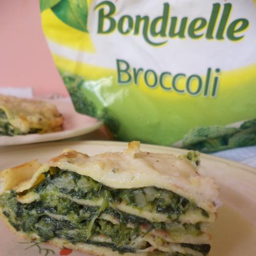 Tort de clătite cu broccoli și spanac