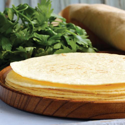 Tortilla cu masa harina - pâine mexicană din făină de porumb
