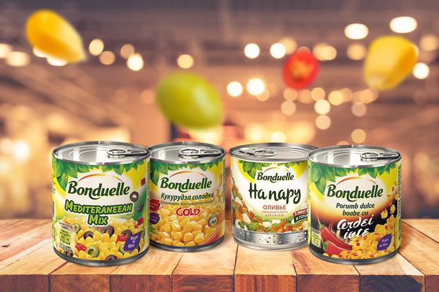 Откройте для себя овощные смеси Bonduelle для вкусного ужина!