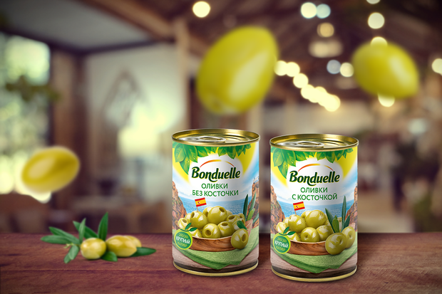 Откройте для себя зеленые оливки с Бондюэль