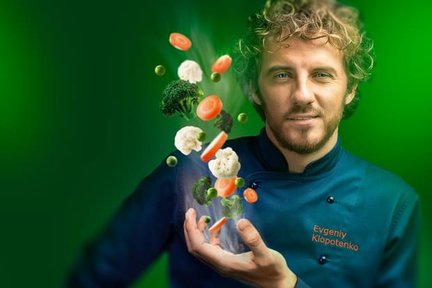Свежие идеи для овощей на пару Vapeur от Евгений Клопотенко