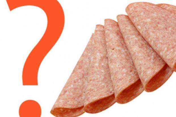 Количество калорий в колбасах
