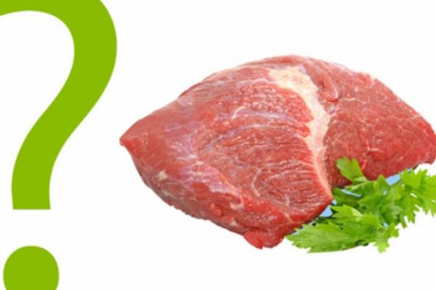 Количество калорий в мясе
