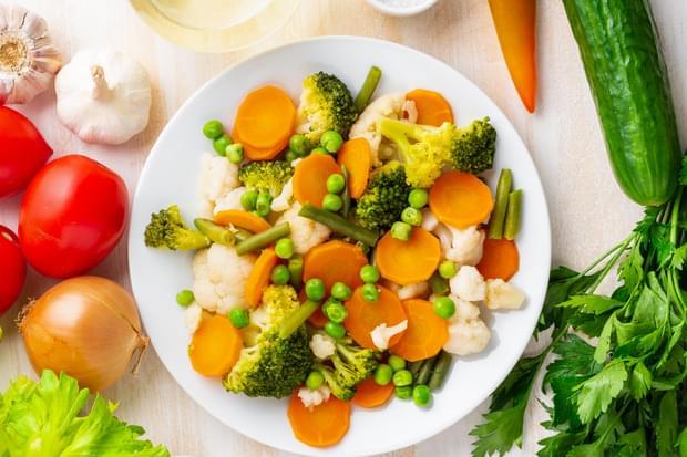Чем полезны овощи на пару