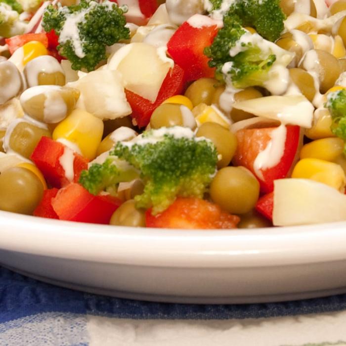 Салат «Море овощей»