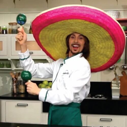 Салат по-мексикански