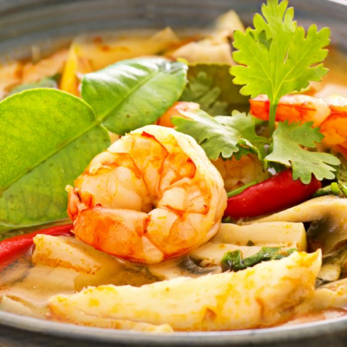 Том ям кунг - тайский суп