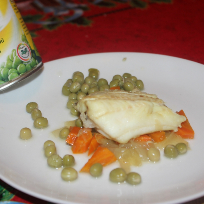Гренадер с овощами
