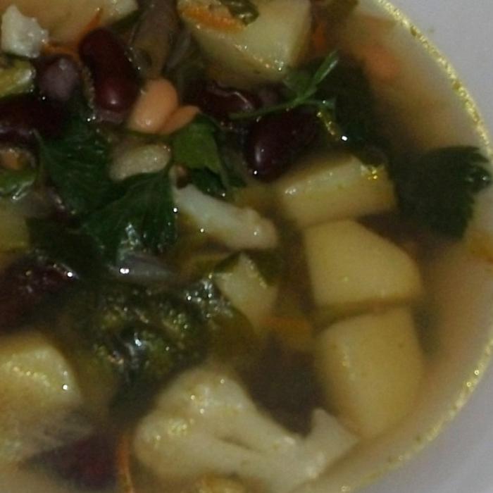 """Овощной суп """"Фасолька Бондюэль"""""""
