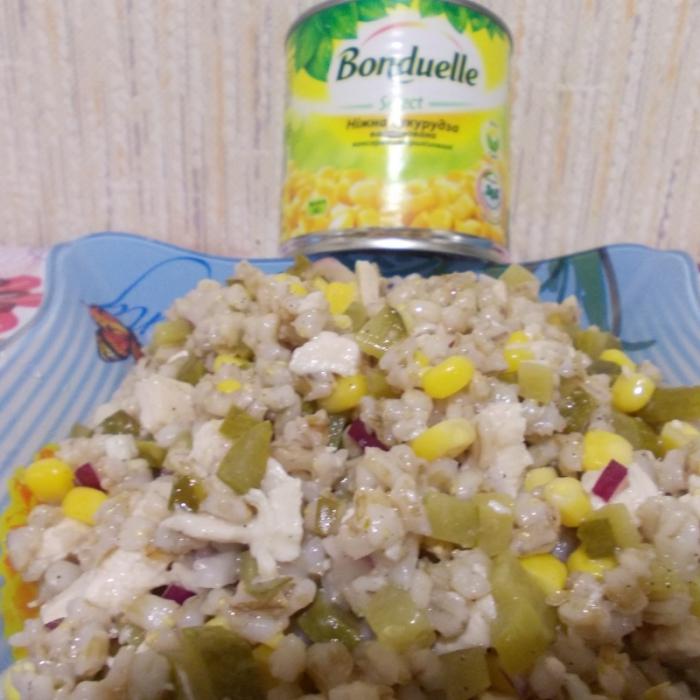 Перловочный салатик