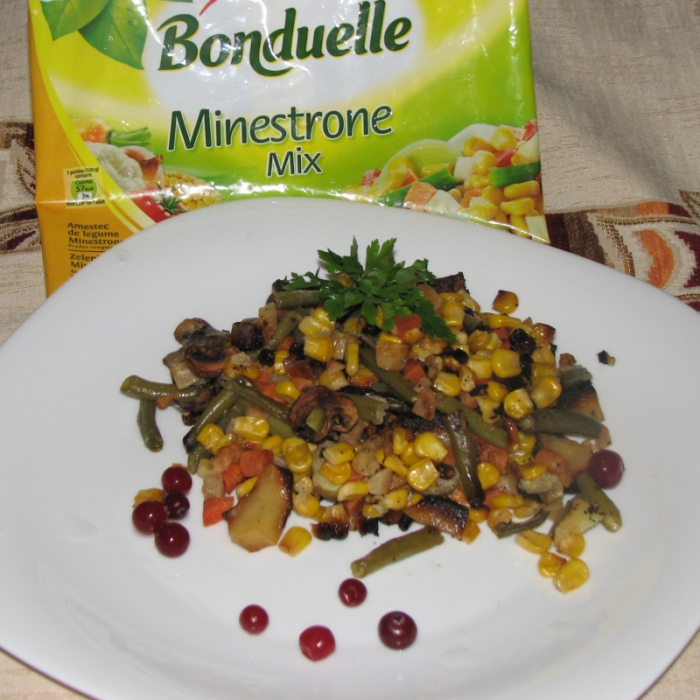 "Овощи ""Бондюэль"" по-французски"