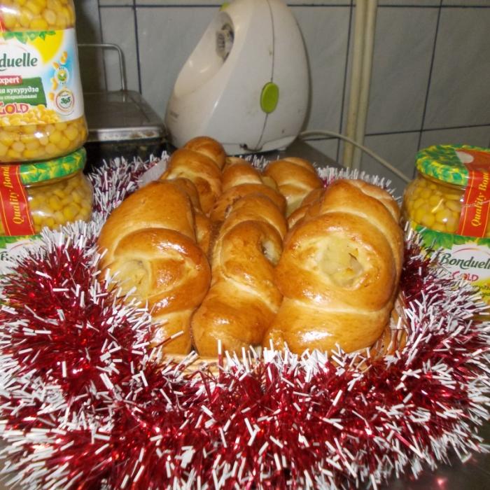 Бондюэлевские пирожки с кукурузой