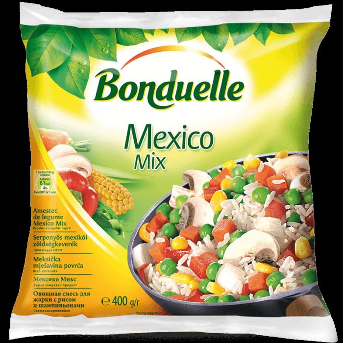 """Овочева суміш для смаження з рисом і шампіньйонами """"Мексиканська"""""""