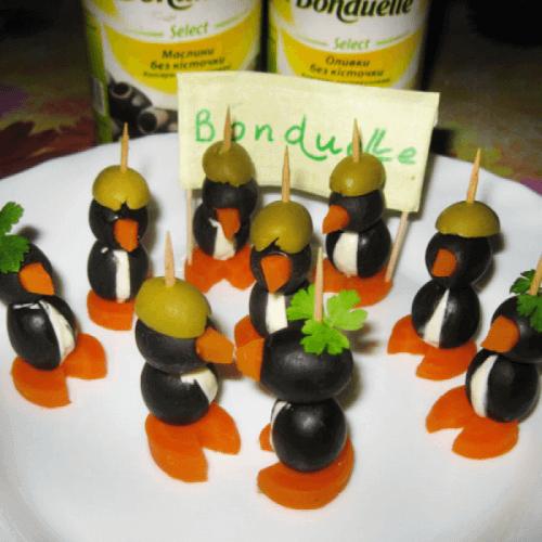 "Закуска ""Пінгвіни"""