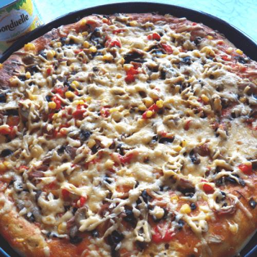 "Смачна піца з ""Бондюель"""