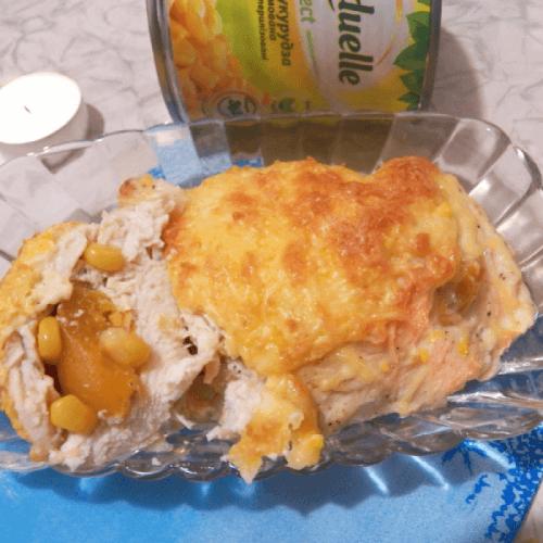 Філейка з кукурудзою і абрикосами