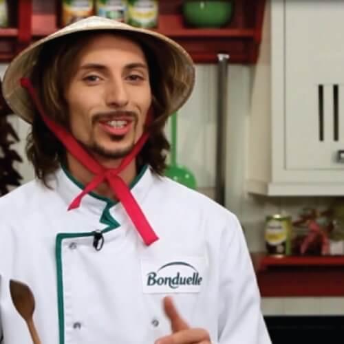 Китайська смажена локшина з овочами