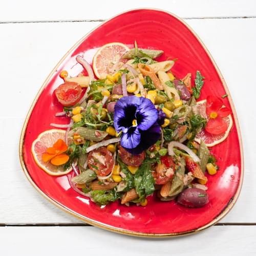 Мексиканський салат з пастою та тунцем