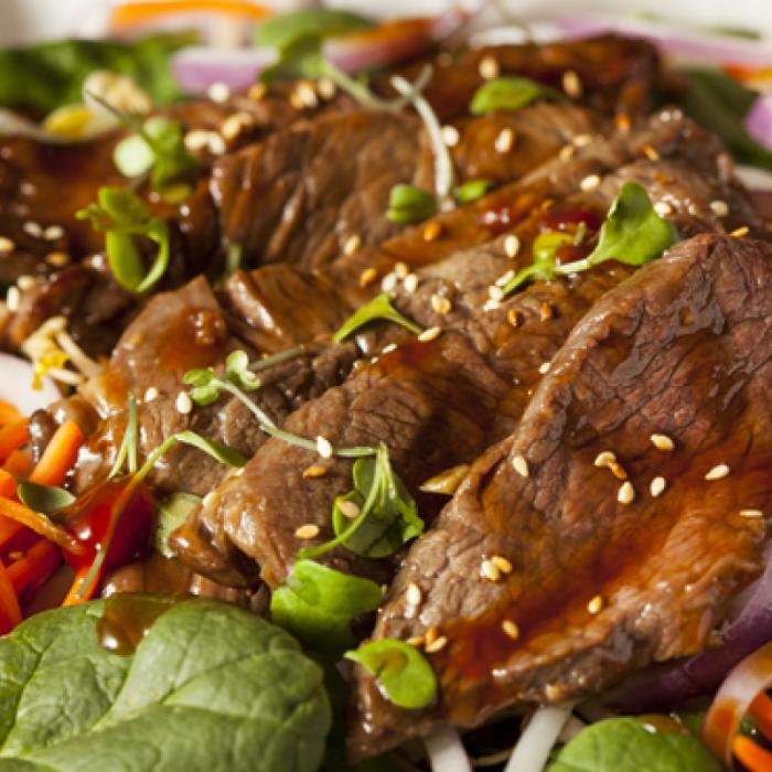 Салат із яловичиною по-в'єтнамськи